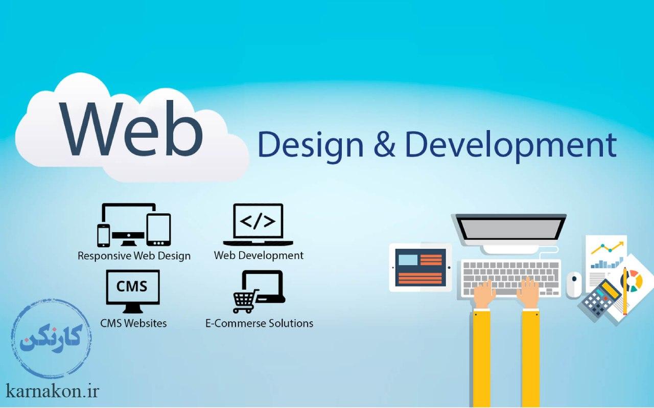 خدمات مربوط به طراحی و توسعه وب سایت در سایت فیور چیست