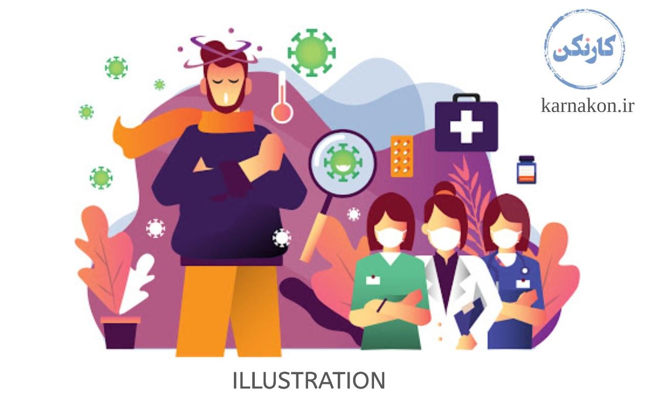 با کار در سایت fiverr از مهارت تصویر سازی خود درآمد کسب کنید.
