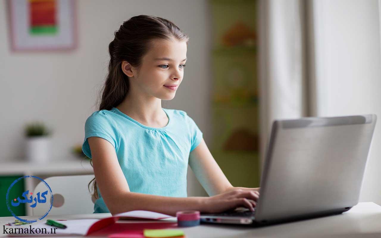 کسب و کار اینترنتی کودکان