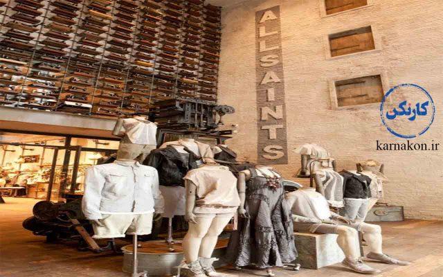 فوت و فن لباس فروشی