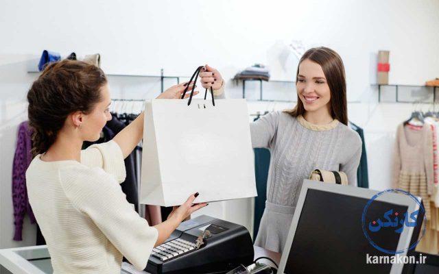 فروشندگی لباس و مزایا و معایب لباس فروشی
