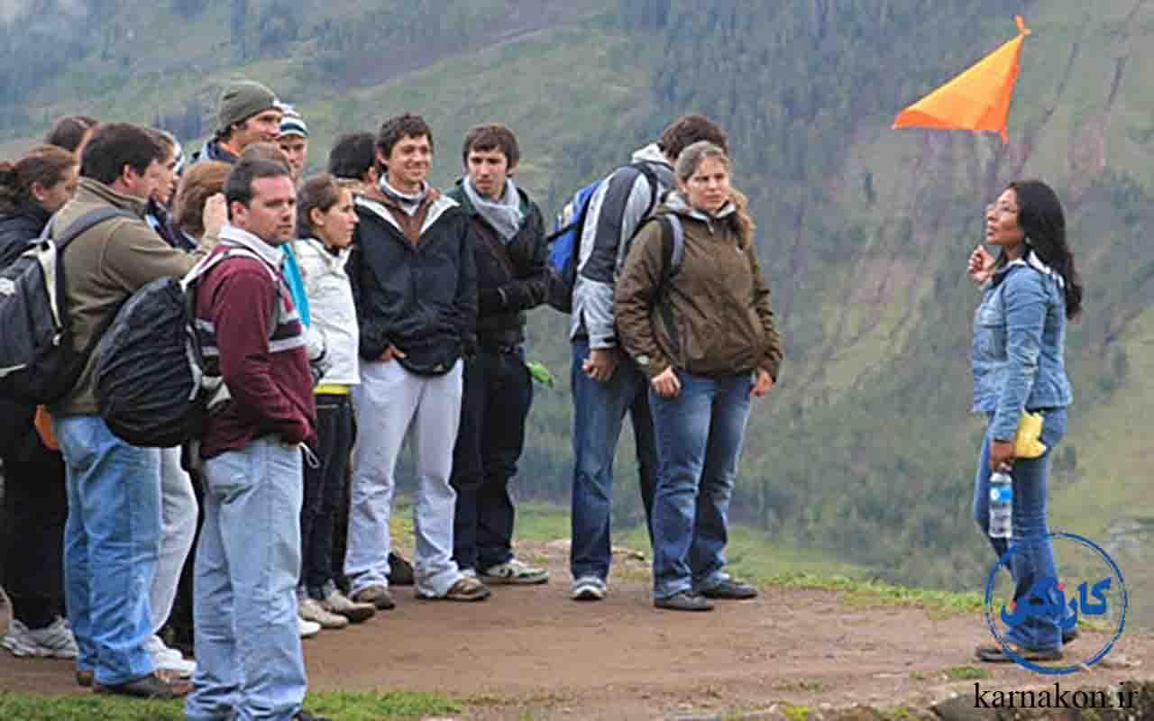 مشاغل مرتبط با رشته گردشگری