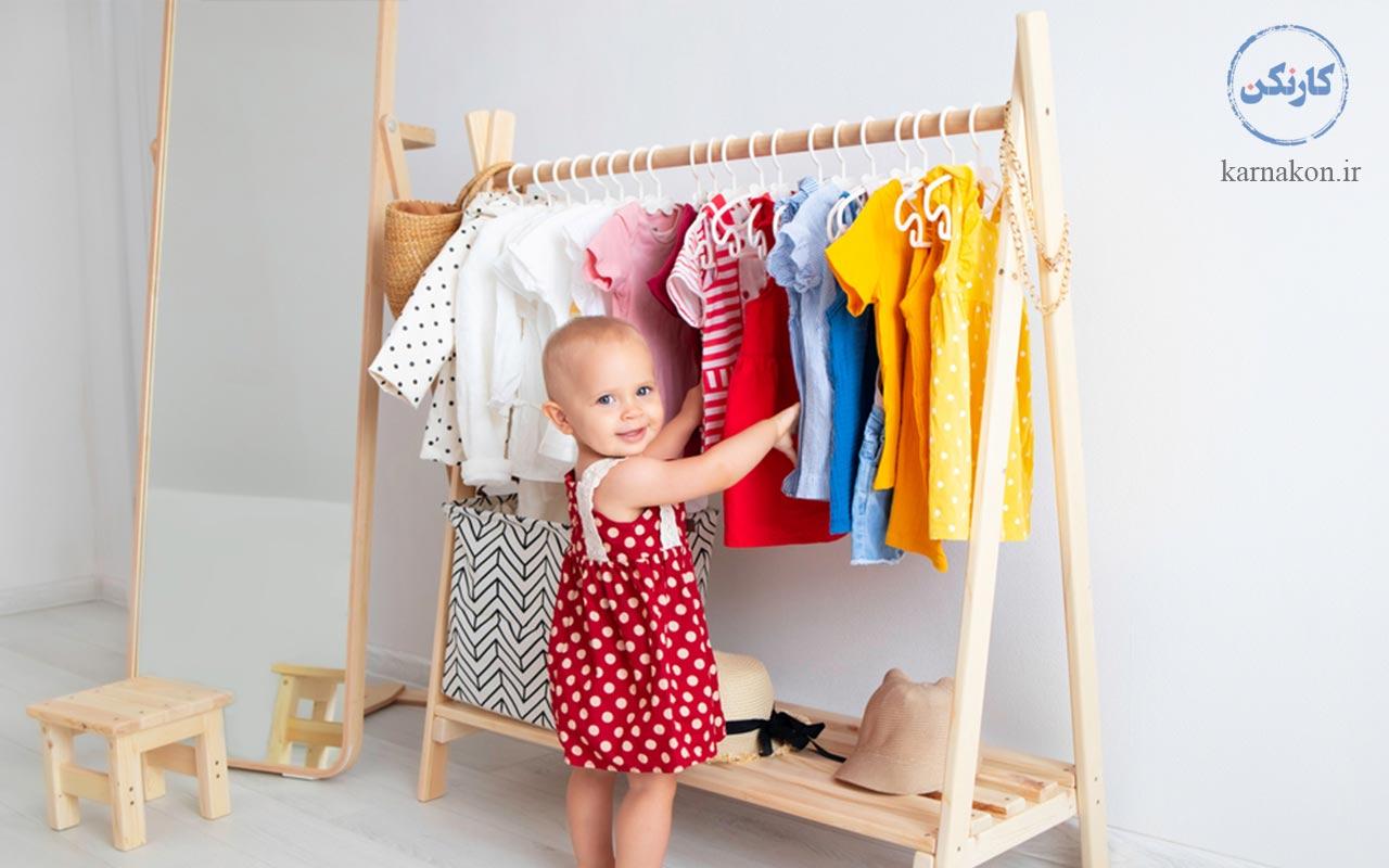 تولید لباس نوزاد و کودک جزء فهرست ایده های کارآفرینی با سرمایه کم در ایران