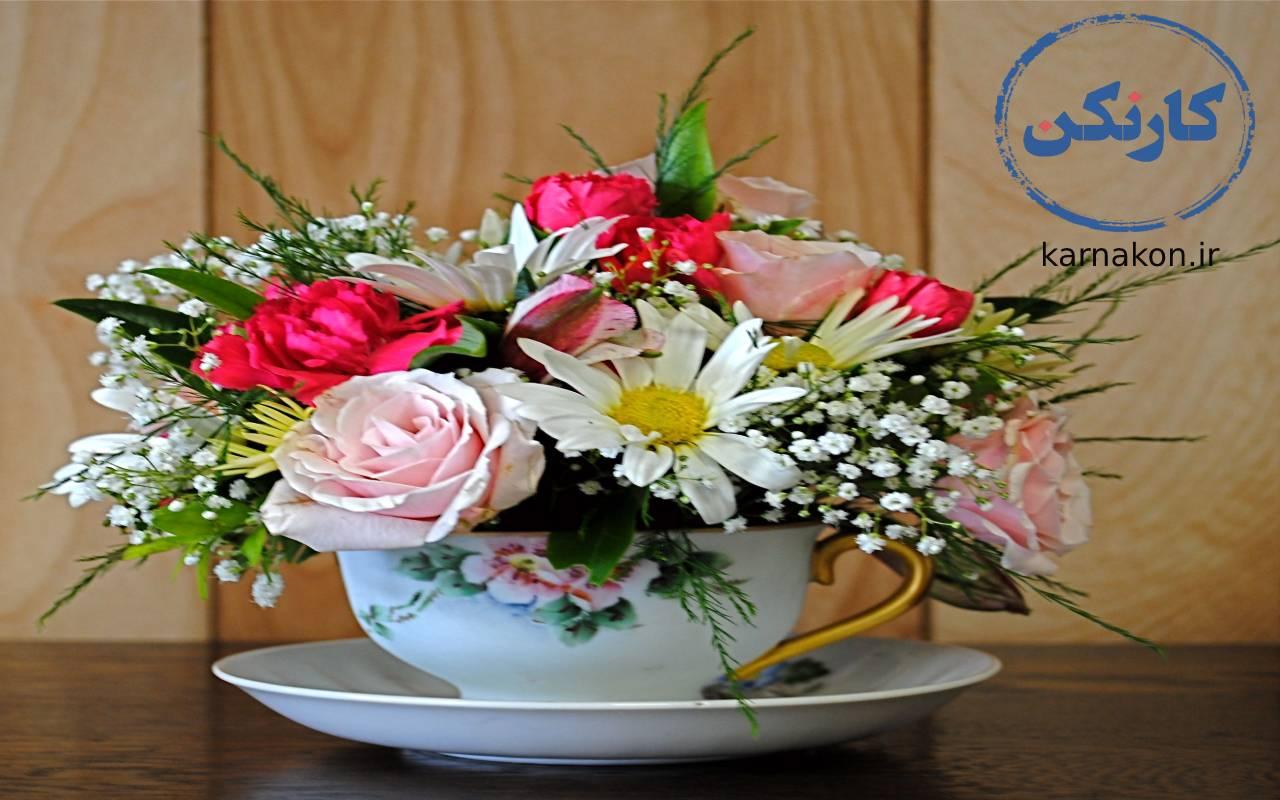 شرایط ایجاد گل فروشی - بازاریابی گل فروشی