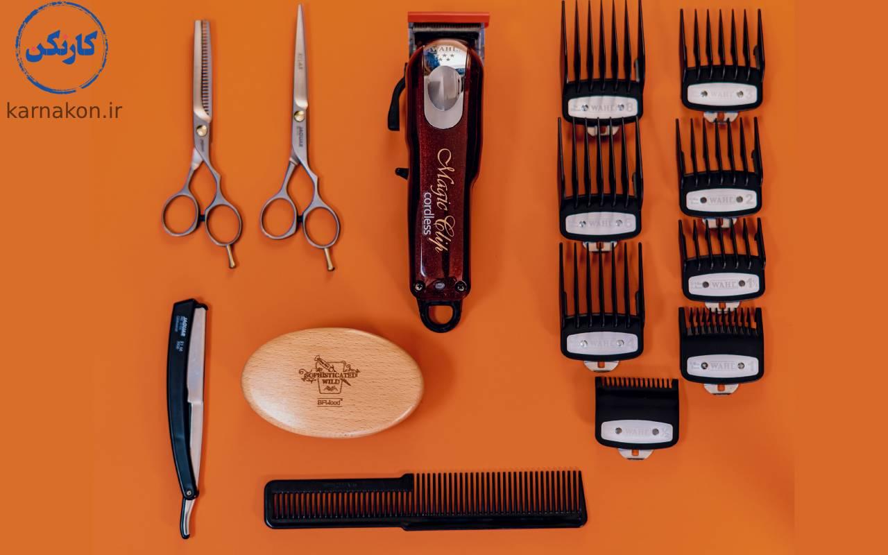 ملزومات ضروری آرایشگری - چگونه یک آرایشگاه مردانه بزنیم؟
