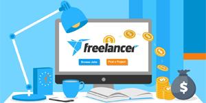 شما میتوانید با شرکت در مسابقات به کسب درآمد از سایت freelancer بپردازید