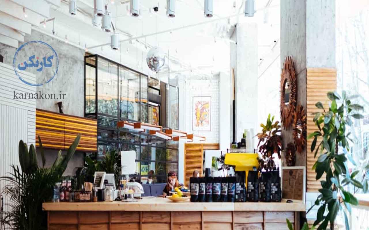 ایده های قهوه فروشی - انتخاب دکوراسیون خاص و چشمگیر میتواند توجه افراد زیادی را به خود جلب کند.